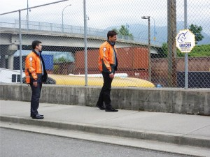 Security Guards on Patrol
